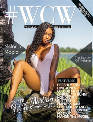 #WCW Magazine Melanin Magic Vol 1 KJ The Martian