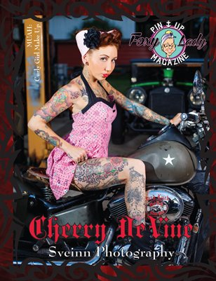 Tattoo,Piercing & Fetish - April Issue 2015 - FoxyLady PinUp Magazine
