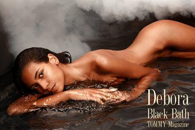 Debora - Black Bath - Poster