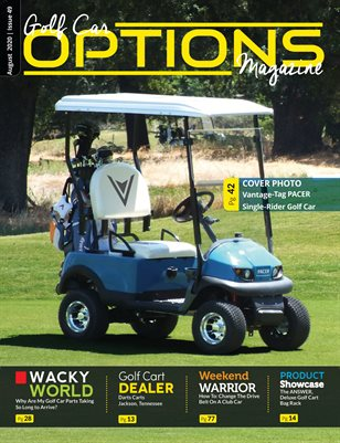 Golf Car Options Magazine - August 2020