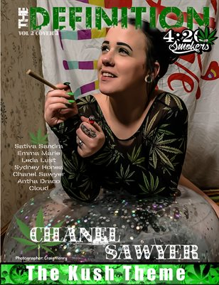 The Definition of High: Chanel Sawyer The Kush Theme Vol.2 cover 3