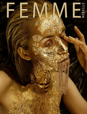 Femme Rebelle Magazine April 2019 BOOK 1 - Dennis Ostermann Cover