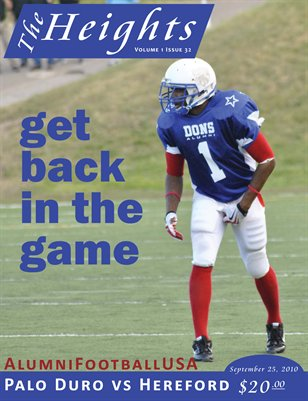 Volume 1 Issue 32 - September 25, 2010
