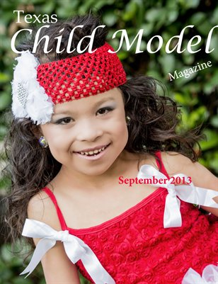 Texas Child Model Magazine September 2013
