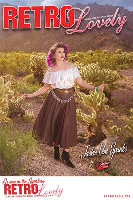 Jackie Von Spanks Cover Poster