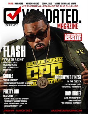 Validated Magazine ft. Flash