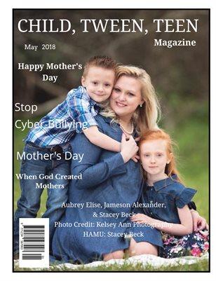 Child, Tween, Teen Magazine-Mother's Day 2018