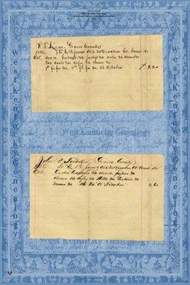 1868 W.F. LIGON vs. H. Bolen, 1868 John R. TUCKER vs. M.A. Tucker