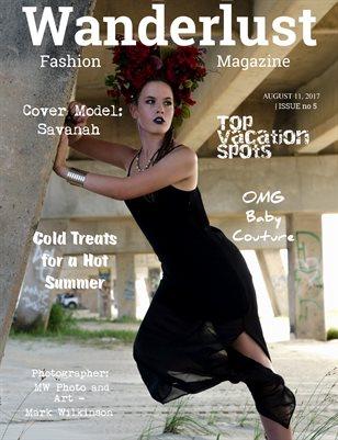 Wanderlust Fashion Magazine, Issue #5
