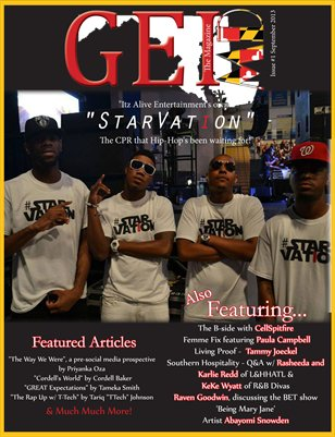 Premier Issue September 2013 GEI The Magazine MD