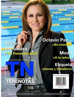 """Adriana Fernandez... """"En Panamericanos"""""""