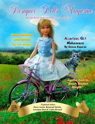 Designer Dolls Magazine - July 2015