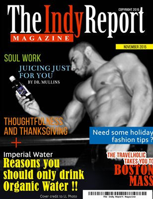 "The Indy Report Magazine...""November Issue"""