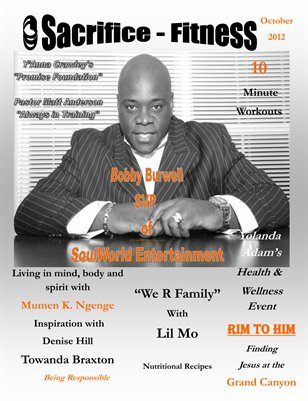 Sacrifice Fitness Magazine October Issue