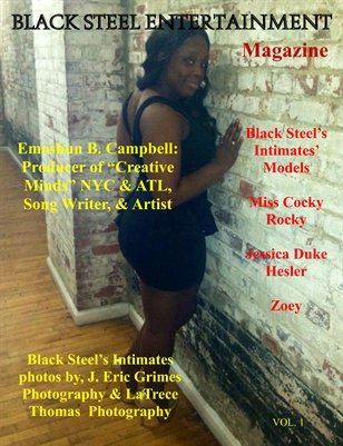 BLACK STEEL ENTERTAINMENT MAGAZINE (AUGUST 2013)