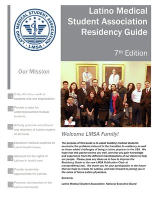LMSA Match & Residency Guide, Spring 2013
