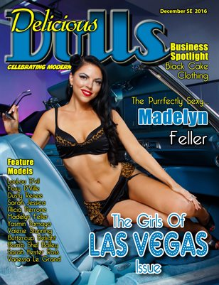 December 2016 Girls of Las Vegas Madelyn Feller cover