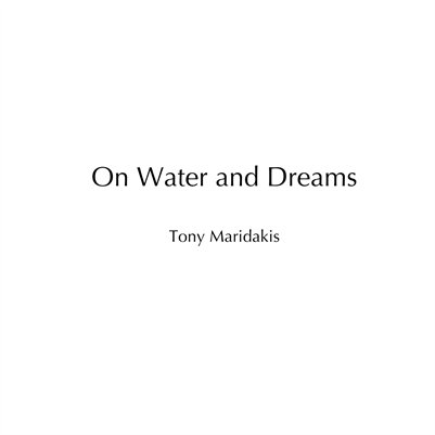 On Water and Dreams | Catalog