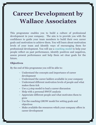 Career Development by Wallace Associates