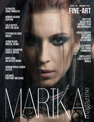 MARIKA MAGAZINE FINE-ART (ISSUE 519 - January)