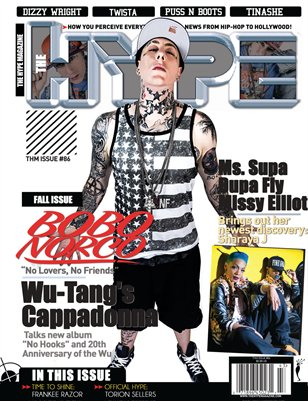 The Hype Magazine - Issue #86 Bobo Norco, Sharaya J & Missy Elliotn
