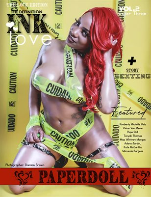 TDM INK: PaperDoll Valentine Issue 2 Cover 3 2021