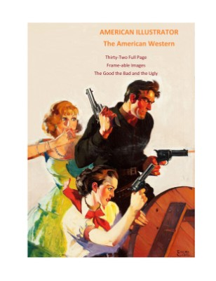 AMERICAN ILLUSTRATOR-OUTLAWS OF THE WEST