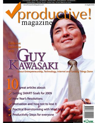 Interview with Guy Kawasaki and 10 productivity tips