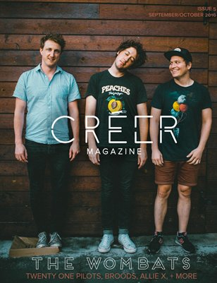 Créer Magazine   Issue 5: The Wombats