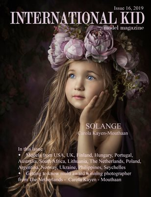 International Kid Model Magazine issue #16