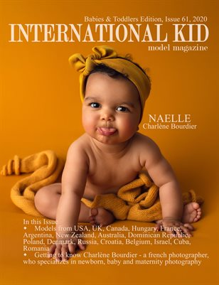 International Kid Model Magazine Issue #61, Babies & Toddlers Edition