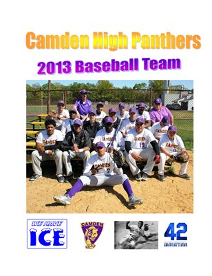 Camden High Panthers 2013 Baseball Team