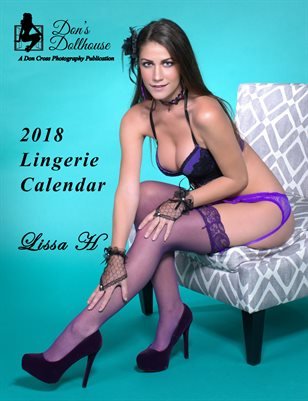 Don's Dollhouse 2018 Lingerie Calendar