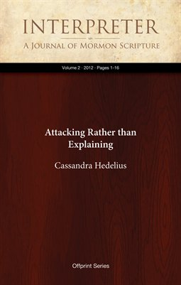 Attacking Rather than Explaining