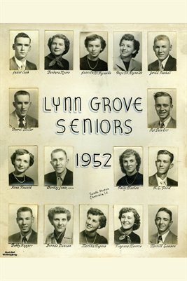1952 Lynn Grove Seniors, Lynn Grove, Calloway County, Kentucky