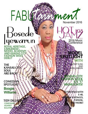November 2016 FABUtainment Magazine