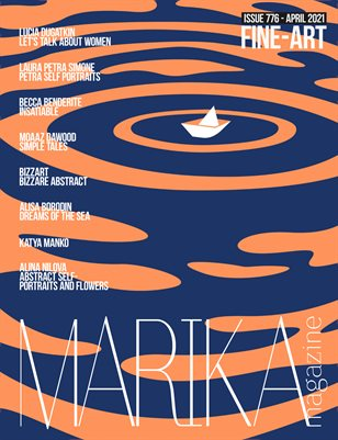 MARIKA MAGAZINE FINE-ART (ISSUE 776 - APRIL)