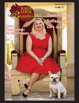 Baba Lous Beauties-Anything Pin Up Issue 32: December 2015