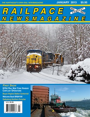 January 2013 Railpace Newsmagazine