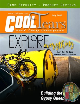 Cool Tears & Tiny Campers Magazine July 2017