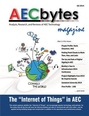 AECbytes Magazine Q4 2014