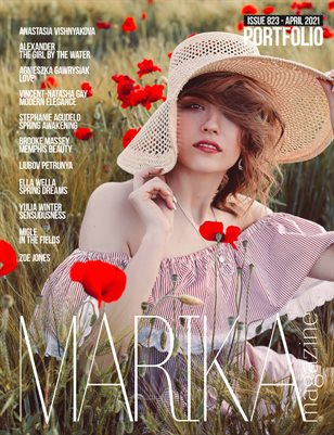 MARIKA MAGAZINE PORTFOLIO (ISSUE 823 - APRIL)