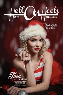Hell on Heels Magazine Santa Baby Poster Series Tara Nichol