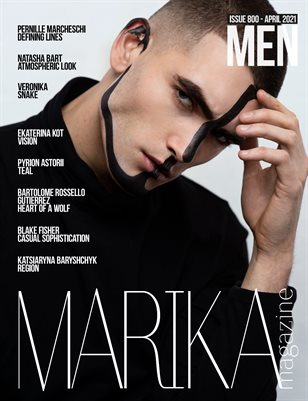 MARIKA MAGAZINE MEN (ISSUE 800- APRIL)