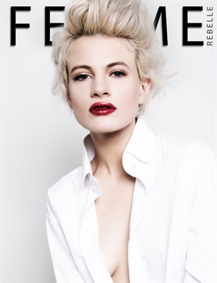 Femme Rebelle Magazine AUGUST - BOOK 1 Chloe Jasmine Cover