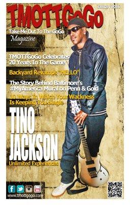 TMOTTGoGo Magazine - Tino Jackson - January 2016