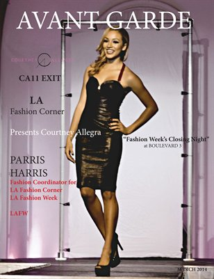 Avant Garde Magazine Designer Series | CA11 EXIT Courtney Allegra | LA Fashion Corner