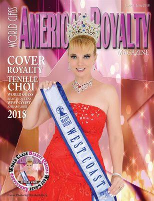 World Class American Royalty Magazine, Issue 1 with Tenille Choi