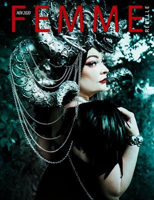 Femme Rebelle Magazine November 2020 BOOK 1 - Wicked Vision Cover