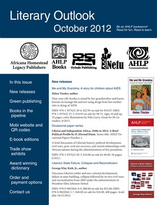 Literary Outlook October 2012